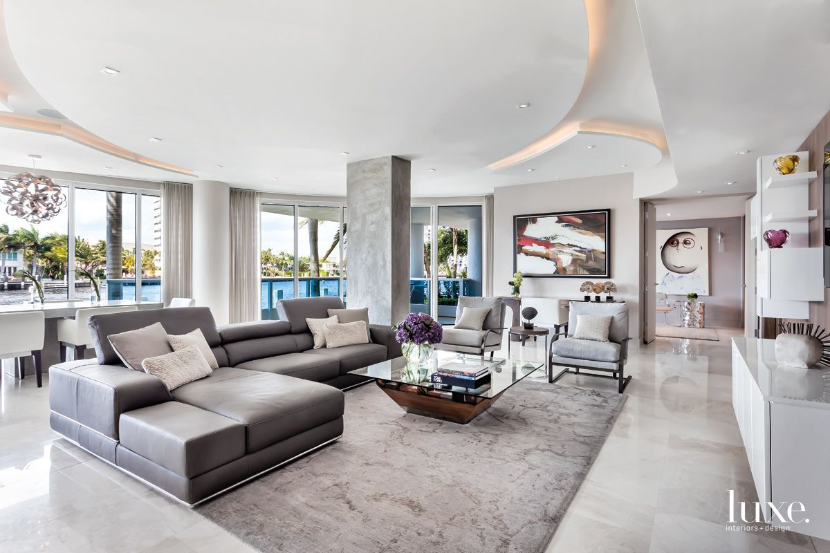 Greys Contrast With Water Views in Fort Lauderdale