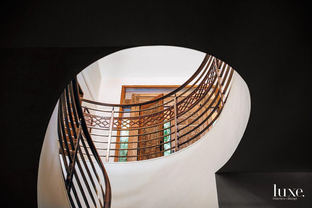 California Cool Circular Staircase in Berkeley Contemporary
