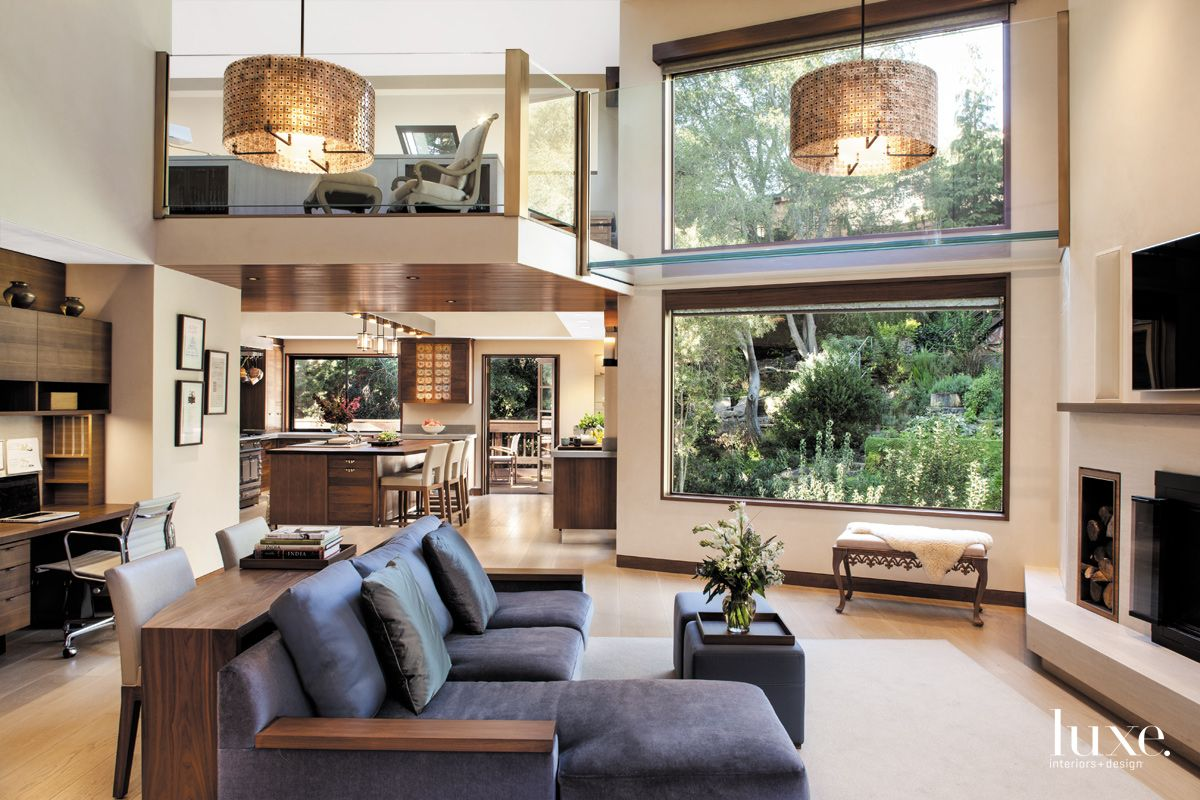 Sophisticated Multi-Level Living Space in Berkeley Contemporary