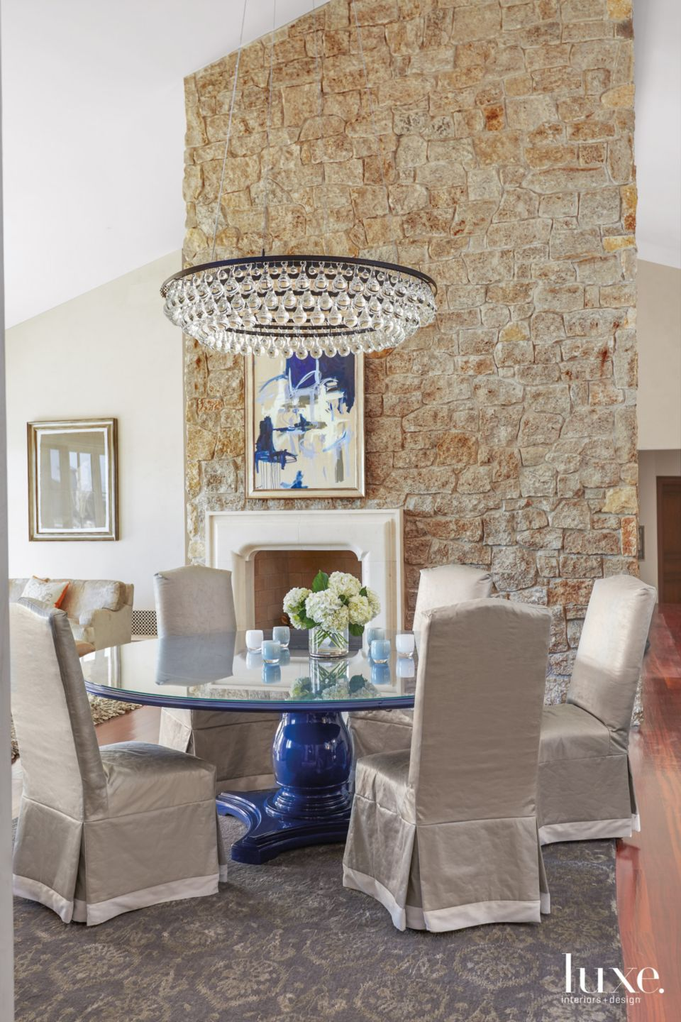Lacquered Glam in Scottsdale Dining Room