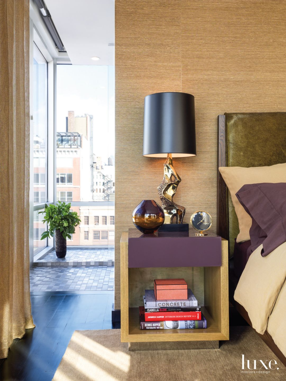 Custom Comfort in Fashionable New York City Master Bedroom