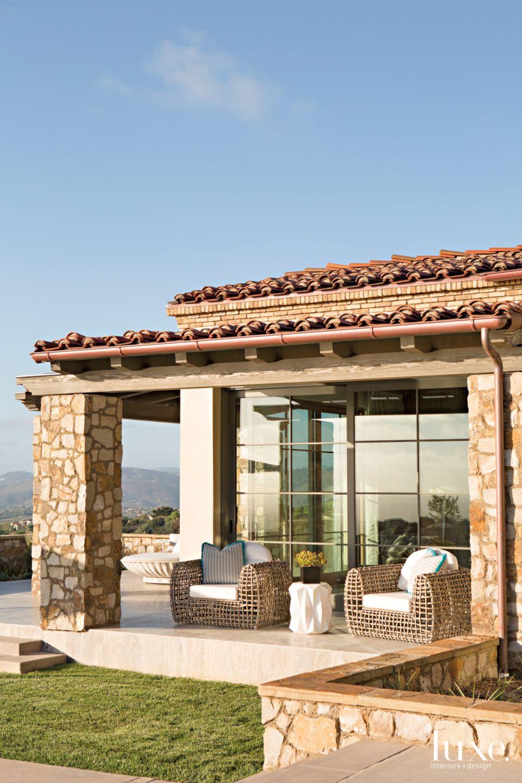Peaceful Overlook in Mediterranean Modern San Diego Home
