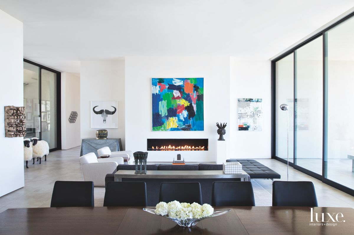 Tucson Living Room Highlights Local Art