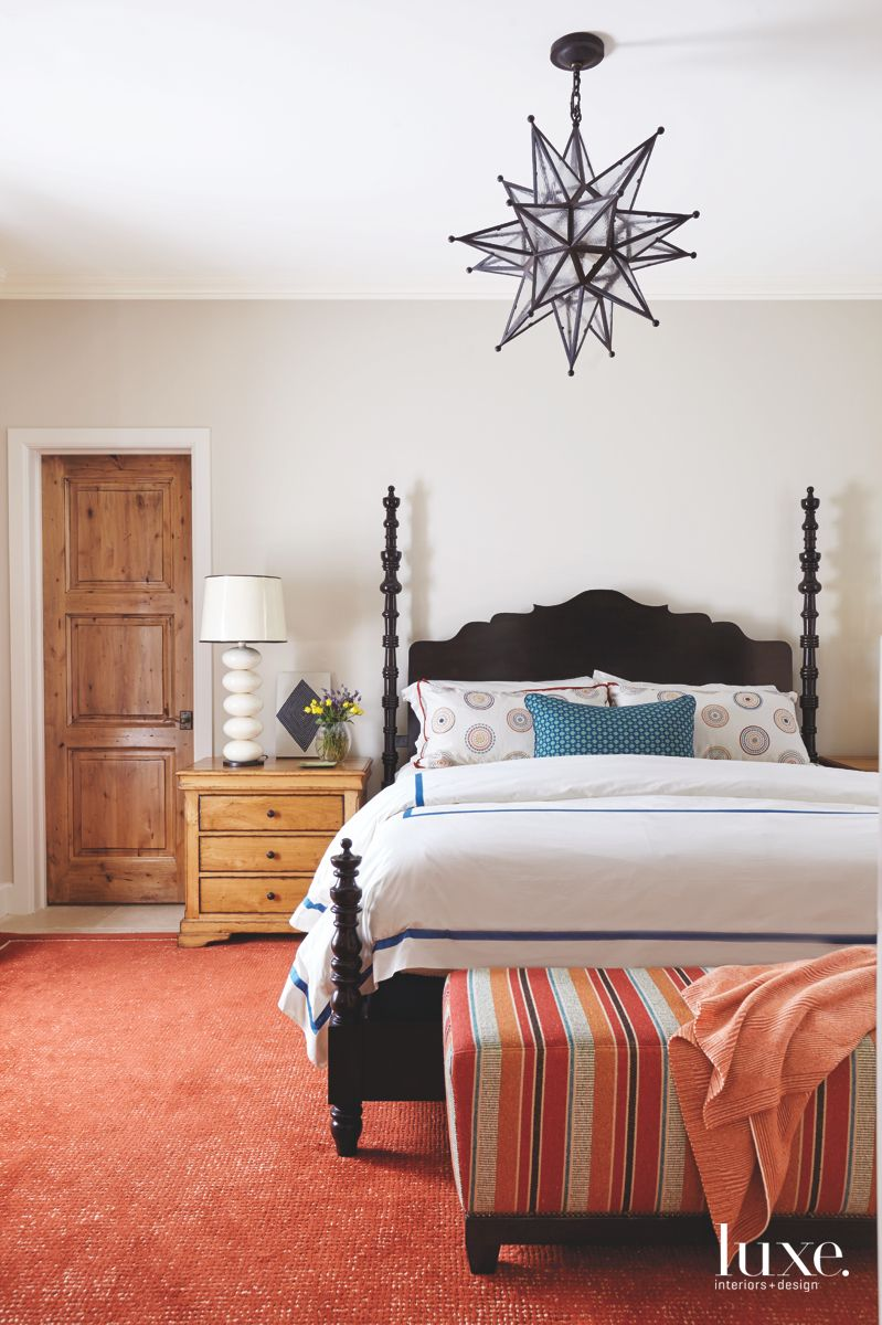 Restful Guest Bedroom in Traditional Scottsdale Home