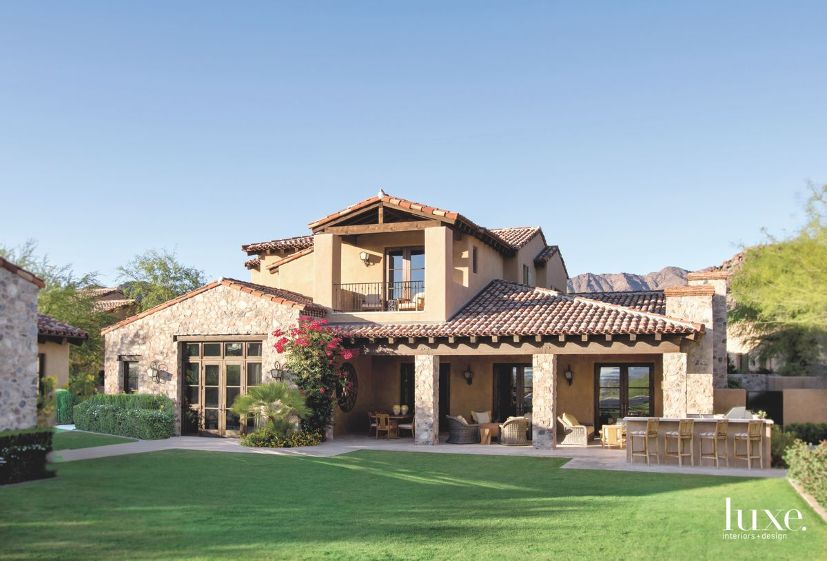 Scottsdale Home with Stone-Clad Exterior