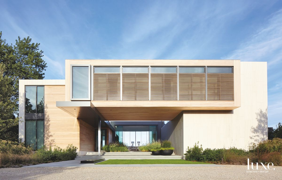 Stunning Modernist Contemporary Hamptons Home
