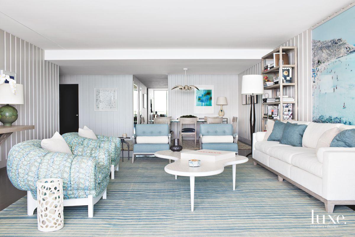 Pale Palette in Calm, Modern Miami Apartment