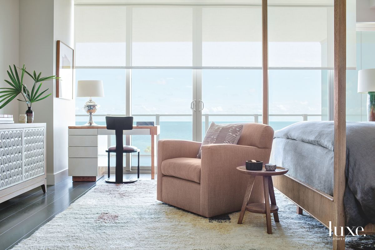 Modern Miami Beach Vibes in Master Bedroom