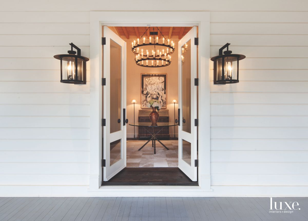 Dramatic Entrance to Historic Calistoga Home