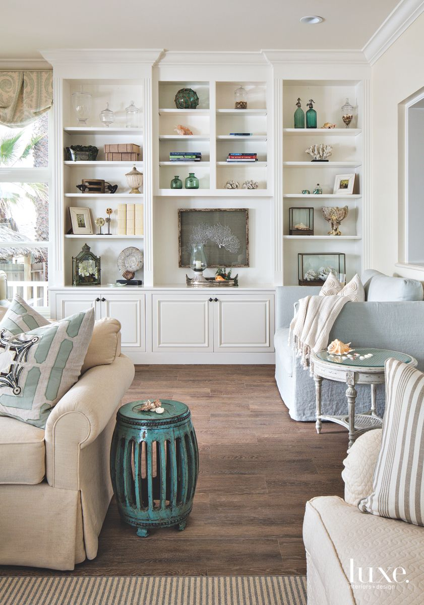 Ocean-Inspired Living Room Filled With Treasures