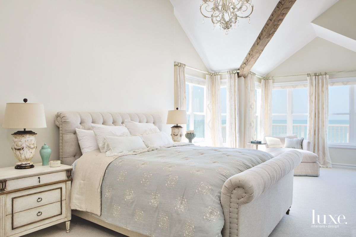 Beach House Master Bedroom Decorated for Daydreaming
