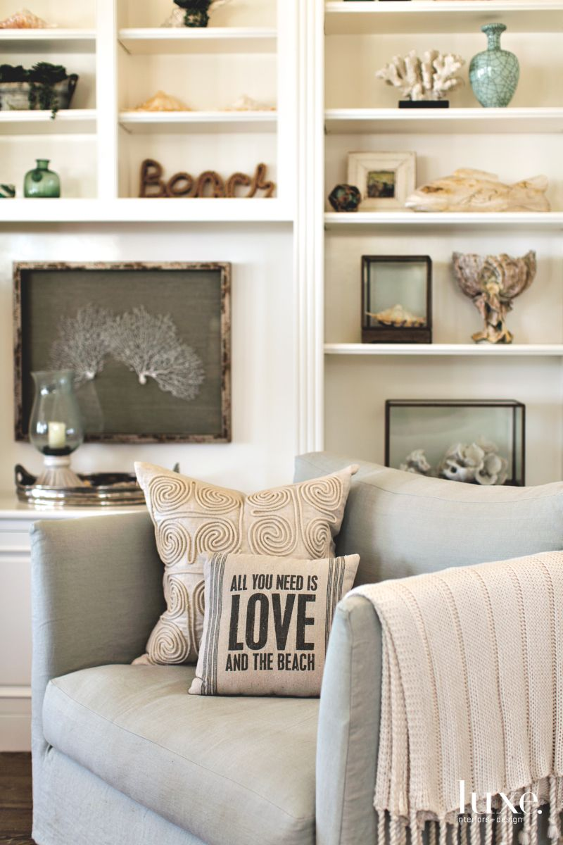 Beach Artifacts Bring Personality to Dana Point Beach Home
