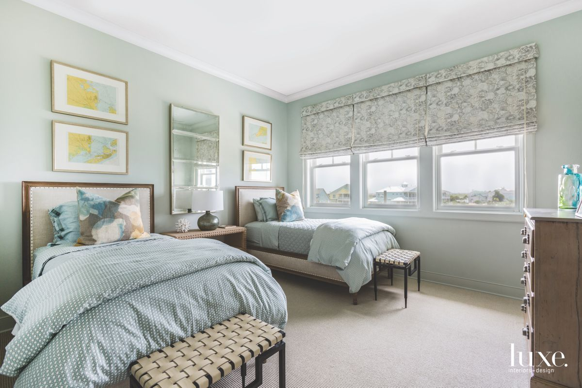 Galveston Guest Room with Seaside Vibes