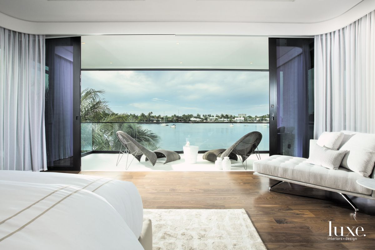 Master Bedroom With Intracoastal Views in Fort Lauderdale