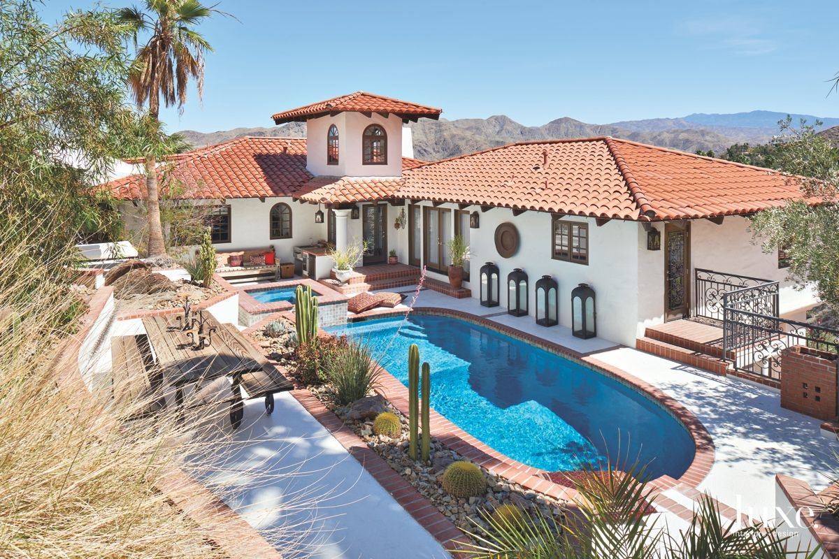 Stylish Spanish Colonial Home in Palm Springs