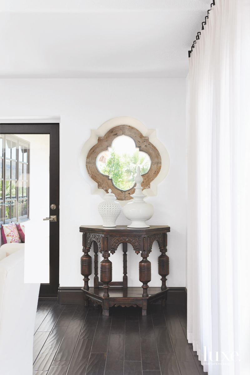 Globally-Inspired Touches Add to Palm Springs Spanish Colonial Home