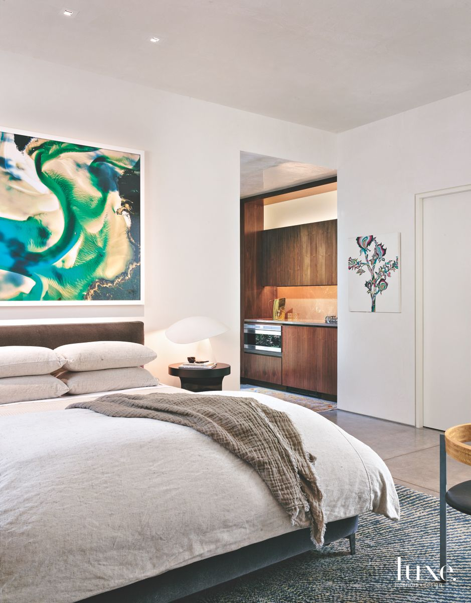Soft & Luxurious Modern San Antonio Guest Bedroom
