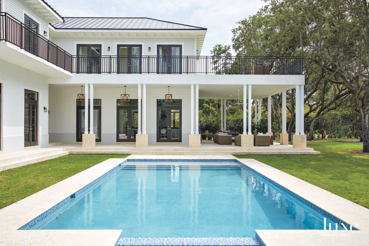 Miami Home With Wide Veranda and Pool