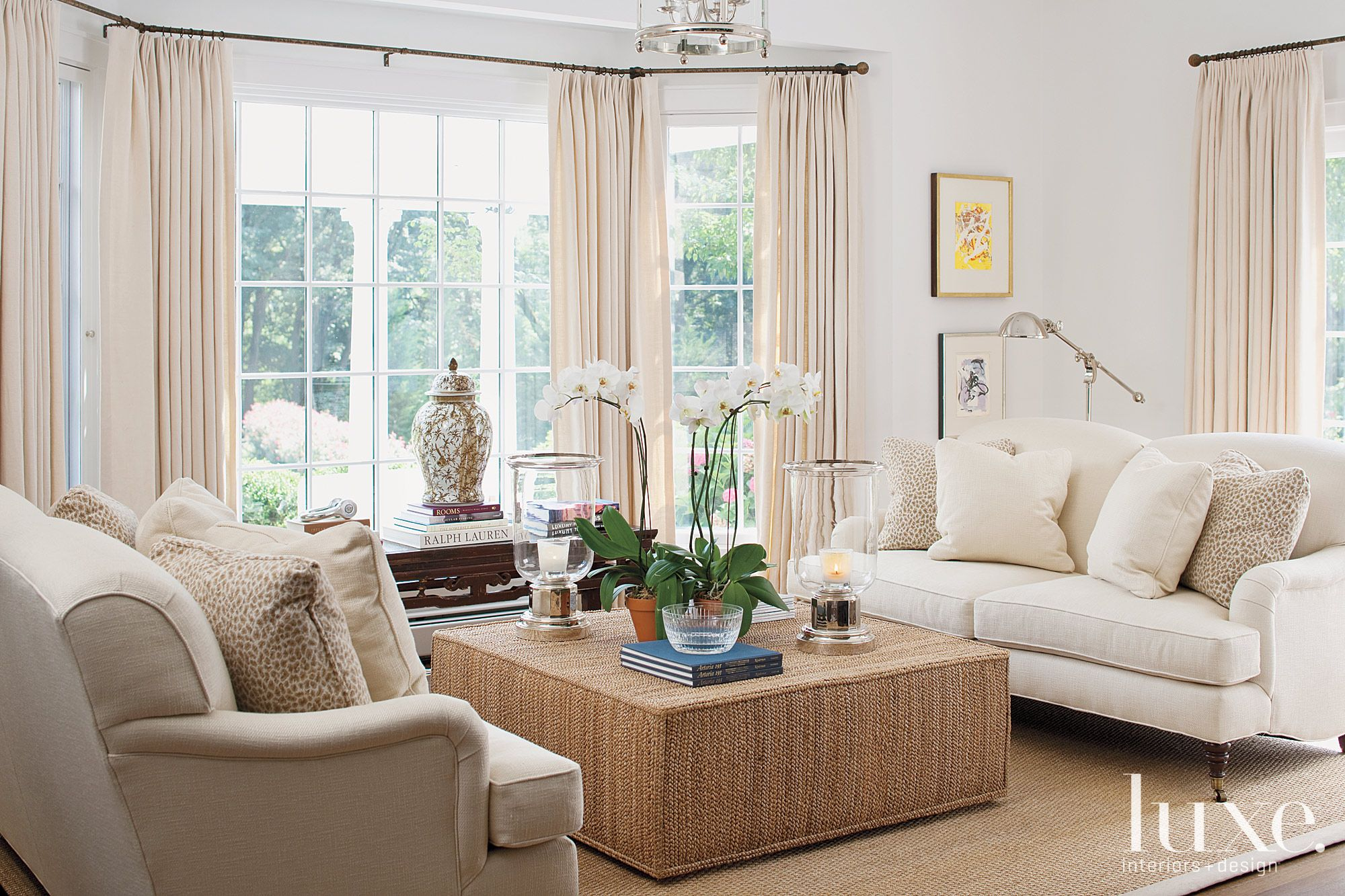 Neutral Colored Sitting Area