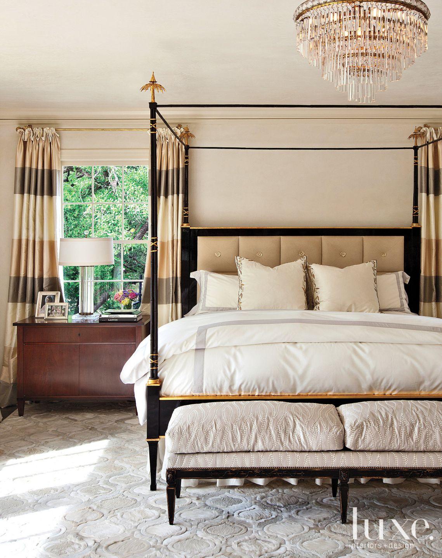 Restored Modern Master Bedroom