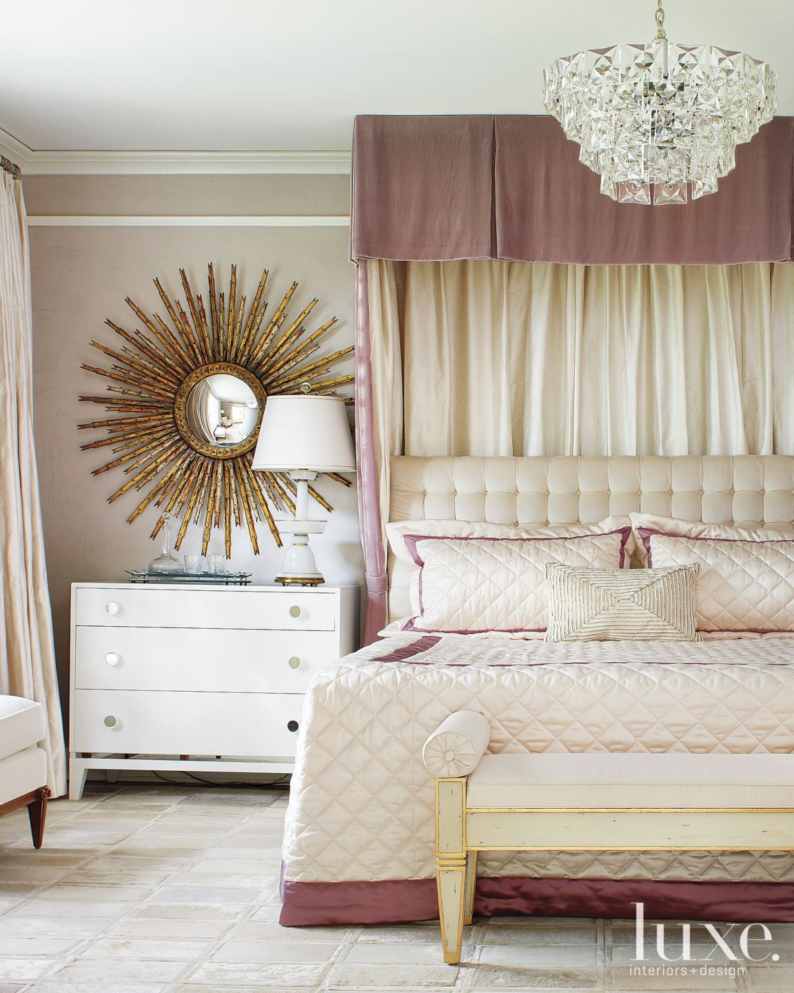 Neoclassic French-style Master Bedroom