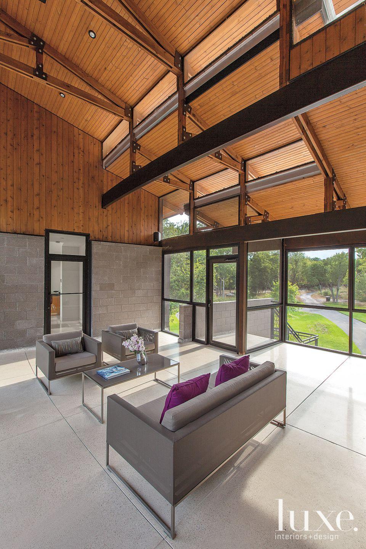 Contemporary Screened Porch