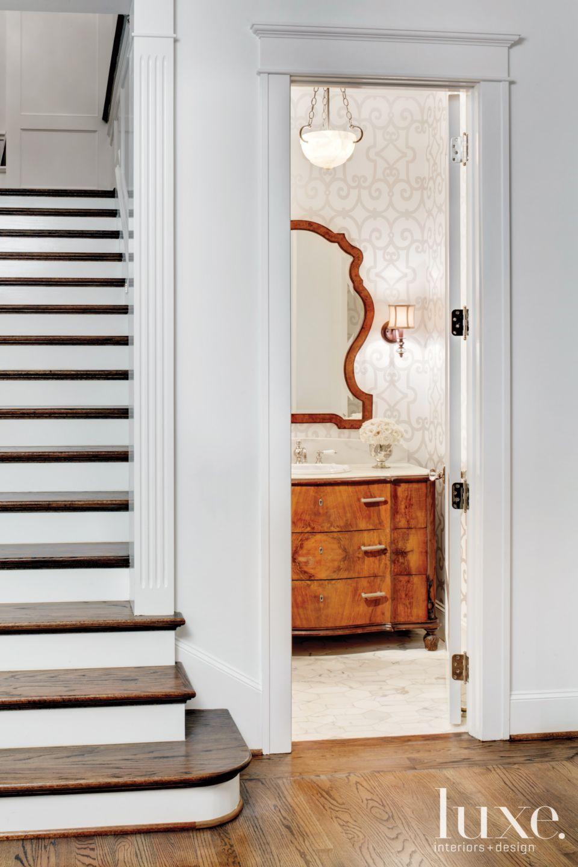 Contemporary Elegant Powder Room