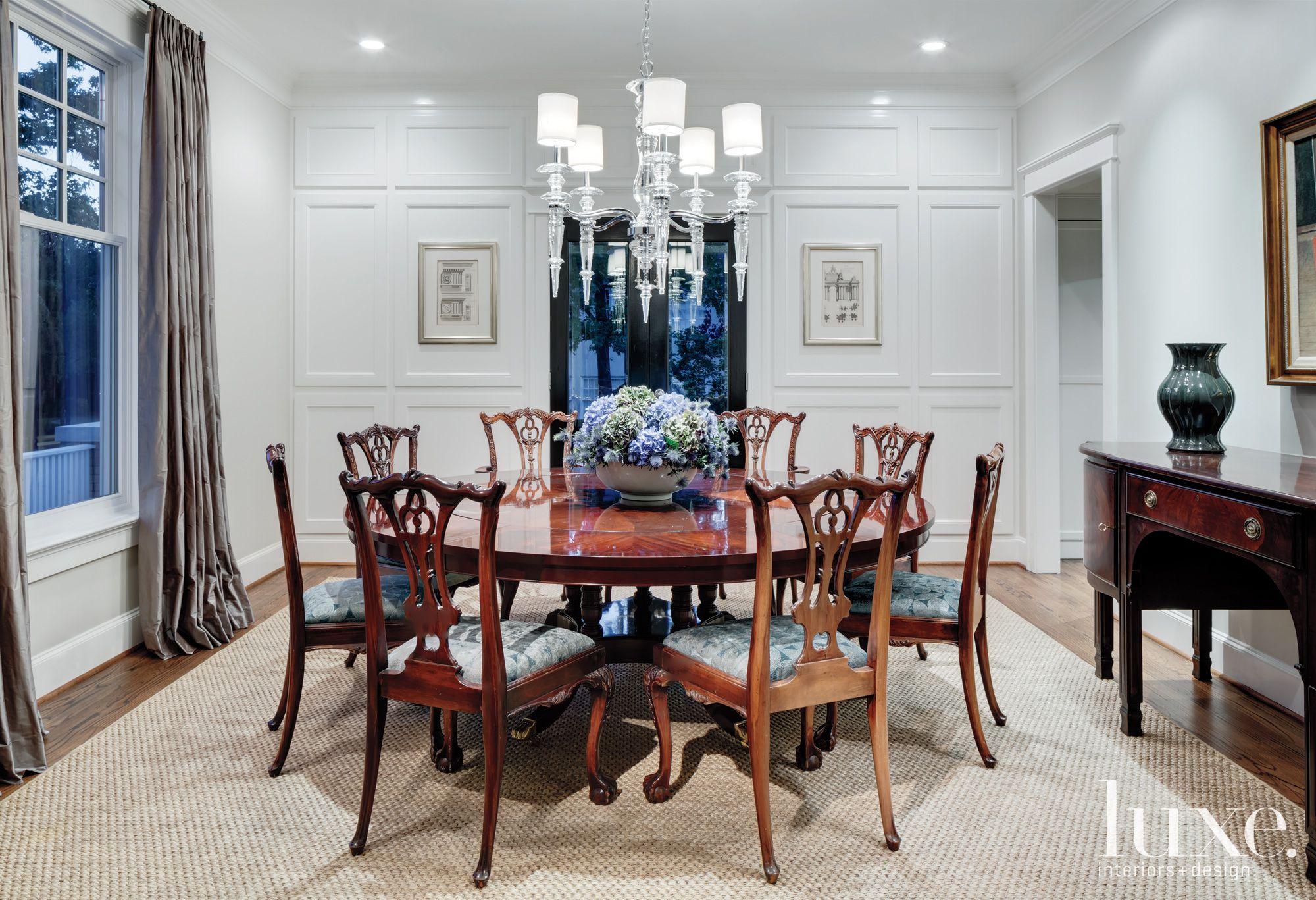 Contemporary Formal Dining Room