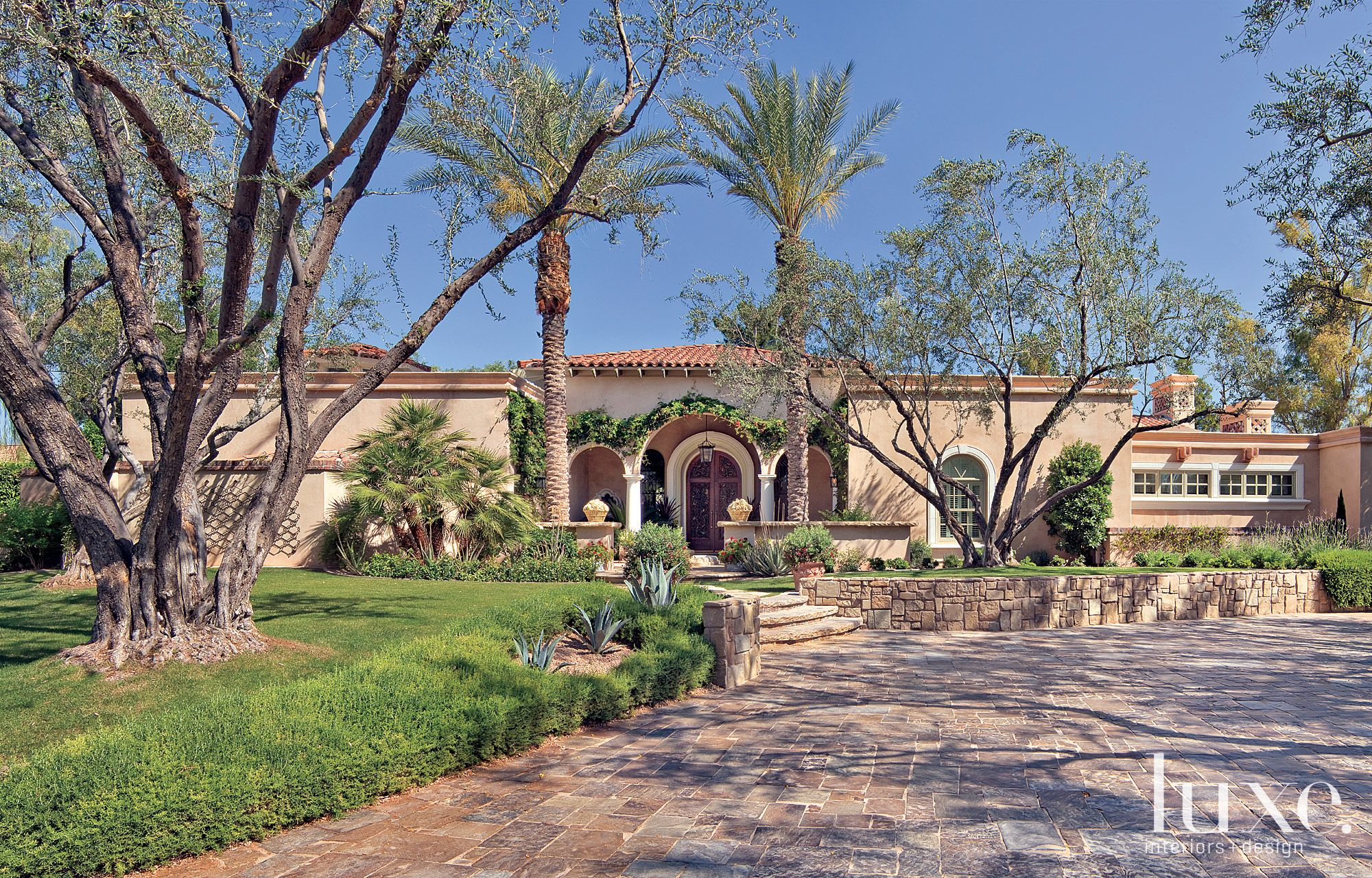 Stucco Spanish-Style Front Exterior