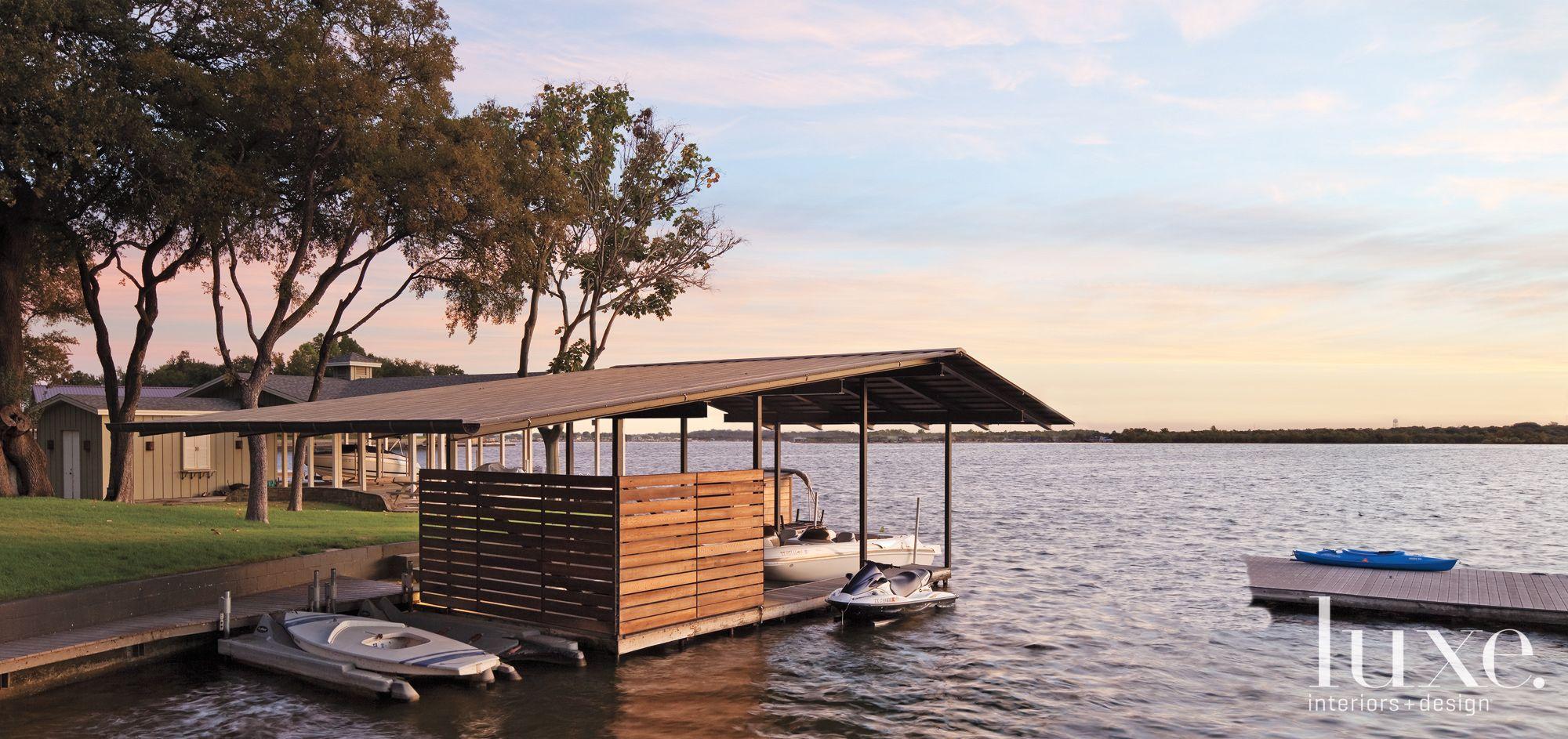 Contemporary Wooden Dock