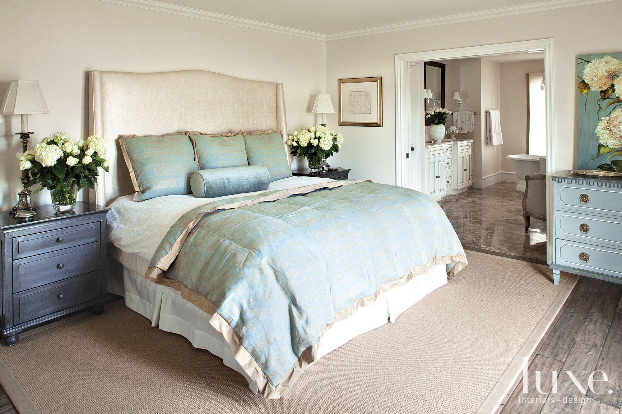A Feminine Bedroom
