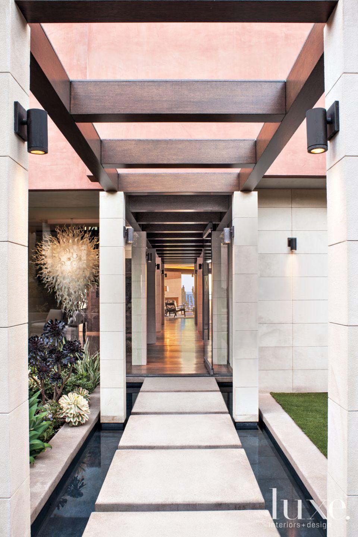 Indoor-Outdoor Hallway