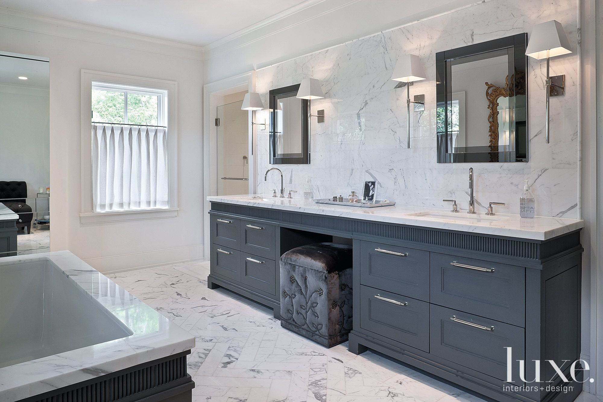 Neutral Modern Master Bath