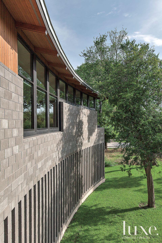 Exterior Polished Concrete Curvature