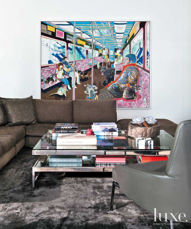 Content-Rich Modern Media Room