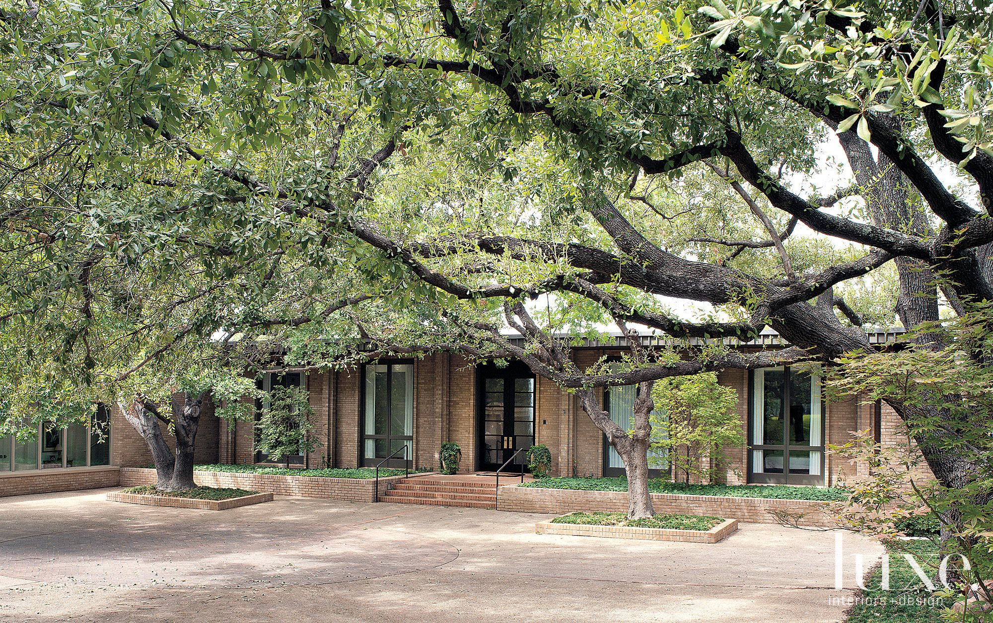 Modern Restored Ranch Front Facade