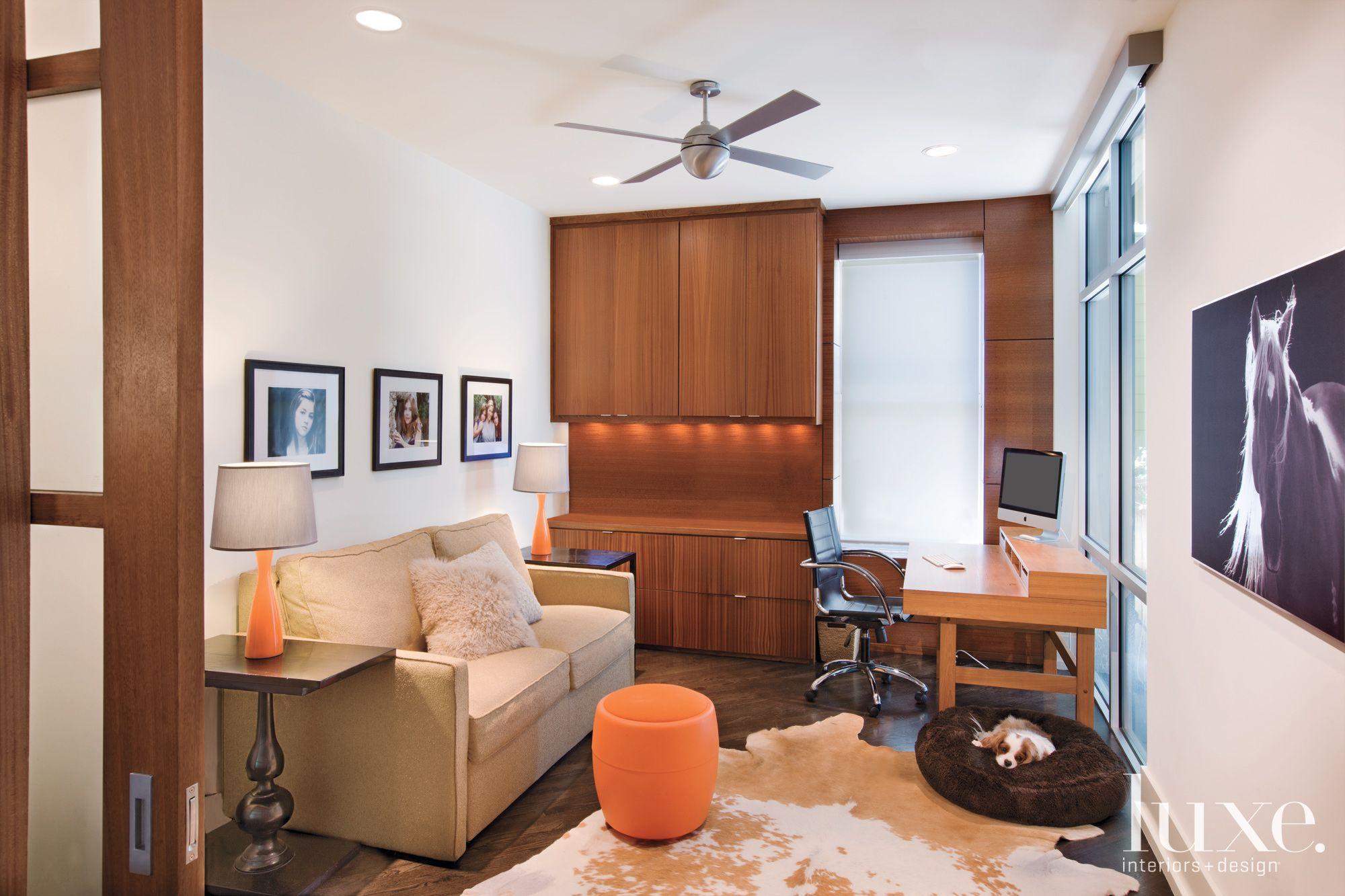Modern White Home Office