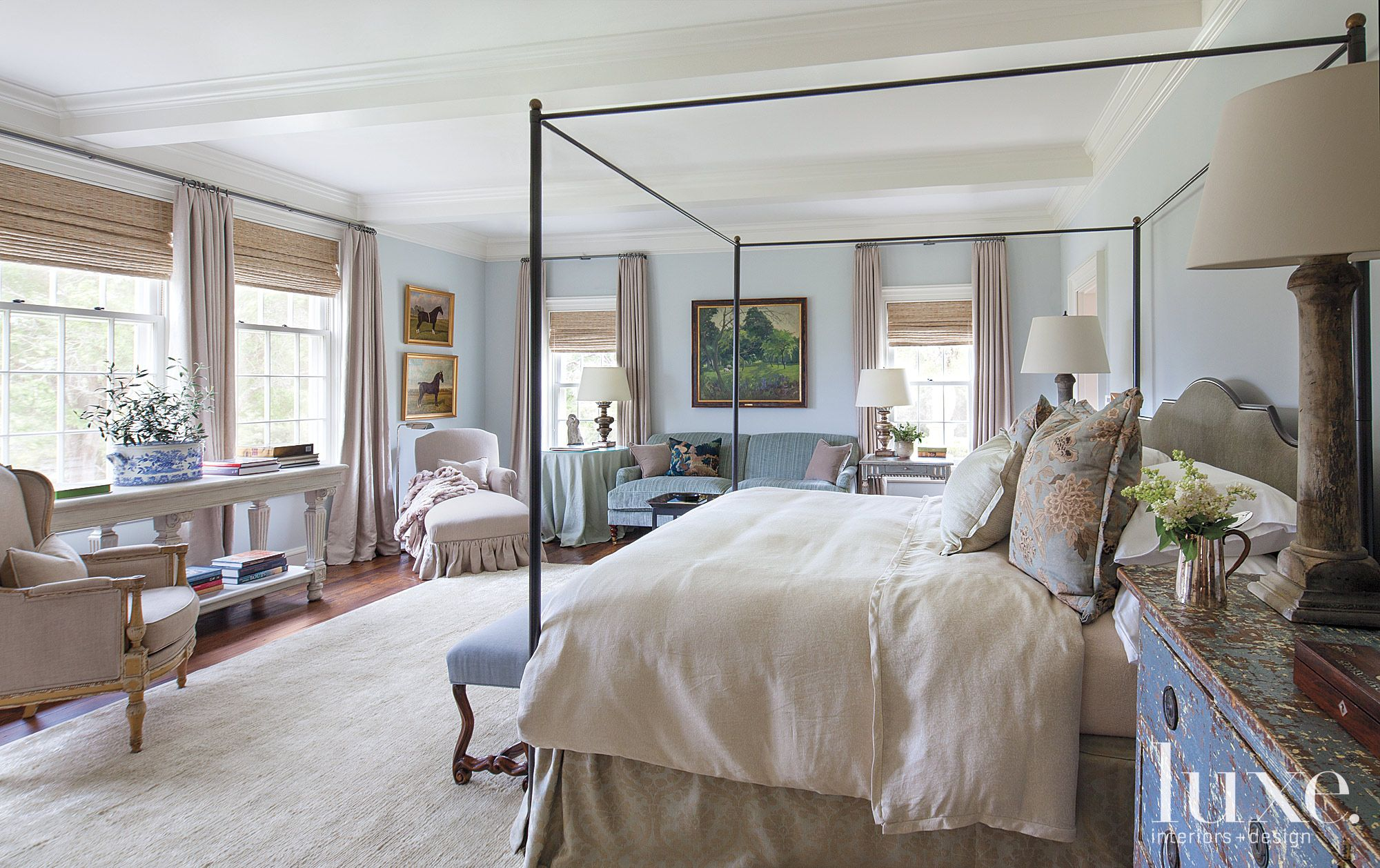 Traditional Country Master Bedroom