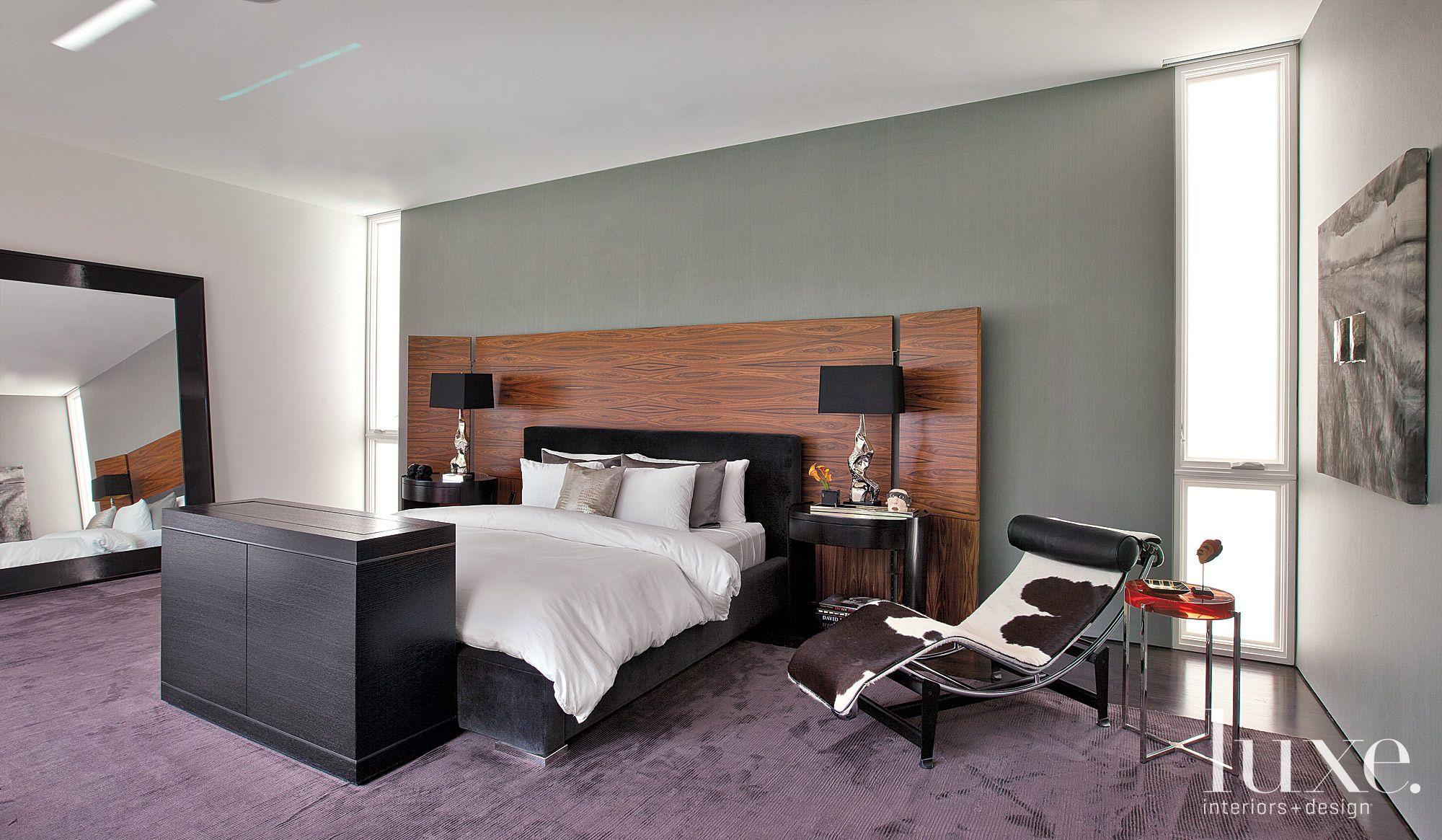 Modern Masculine Master Bedroom