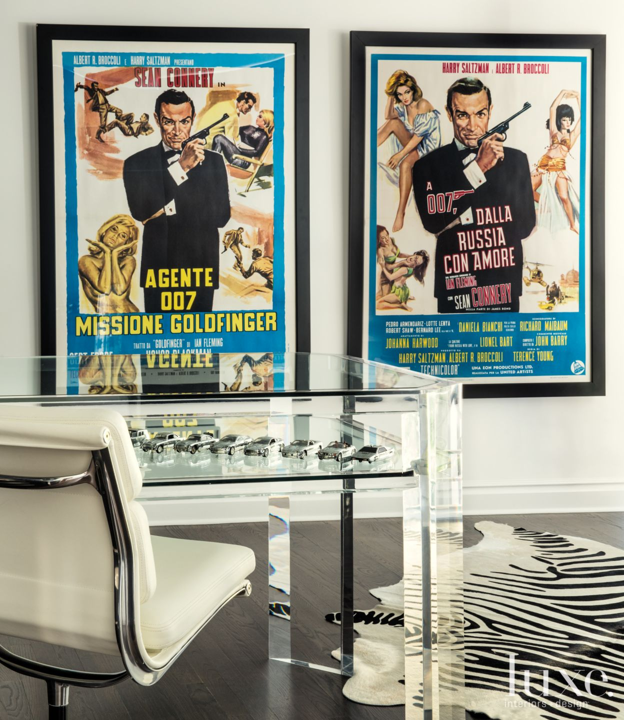 James Bond Modern White Office