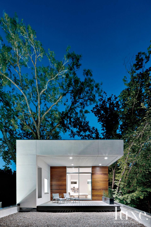 Modern White Master Suite Deck