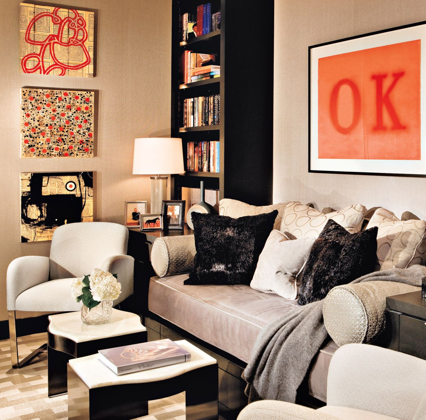 Eclectic Gray Library