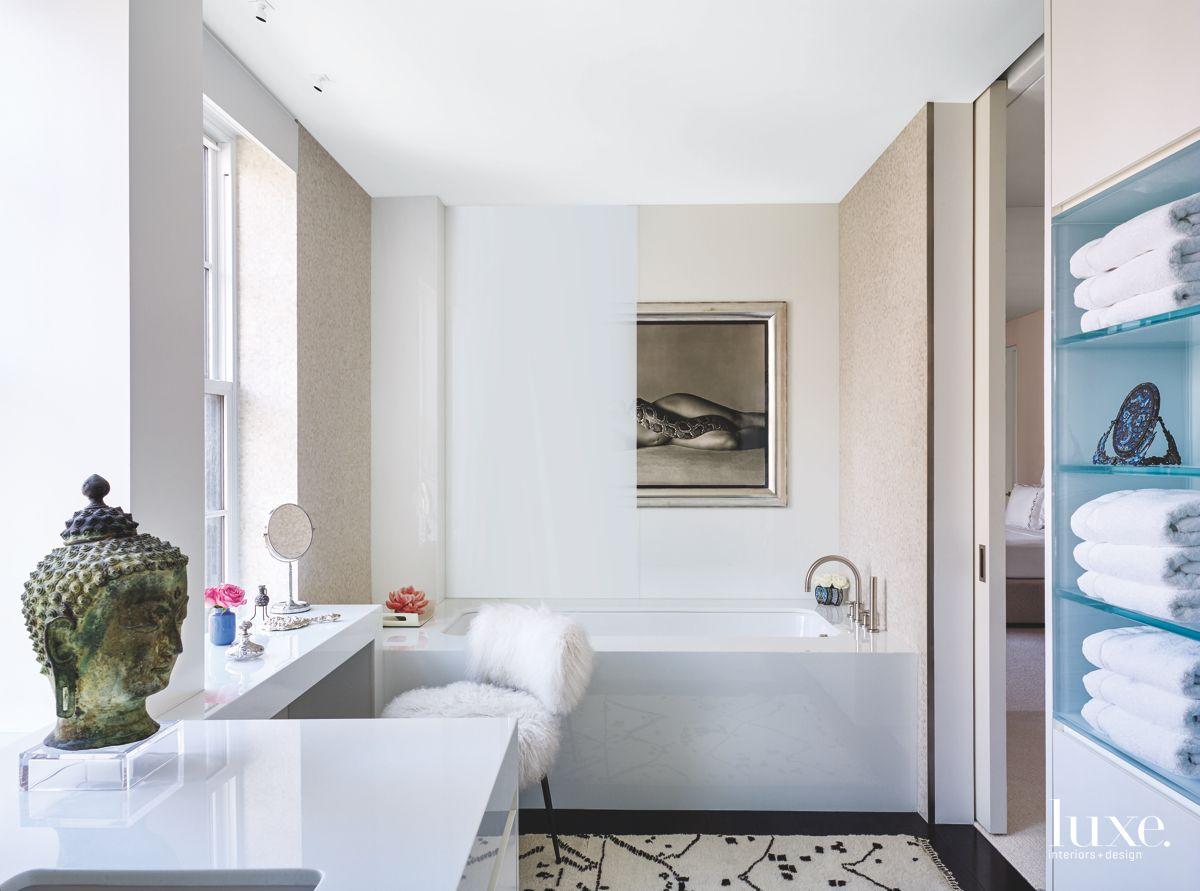 Artfully Designed Bathroom