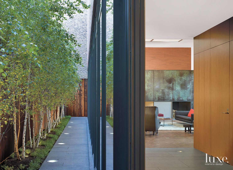 Modern Neutral Indoor-Outdoor Detail