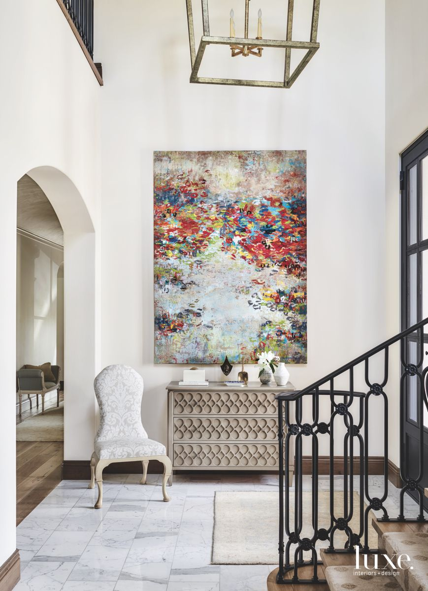 Foyer Abstract Painting