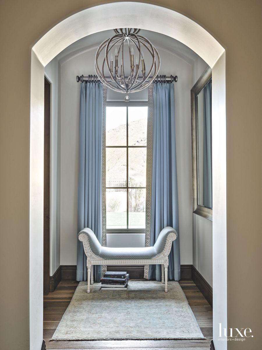 Blue Entry Vestibule