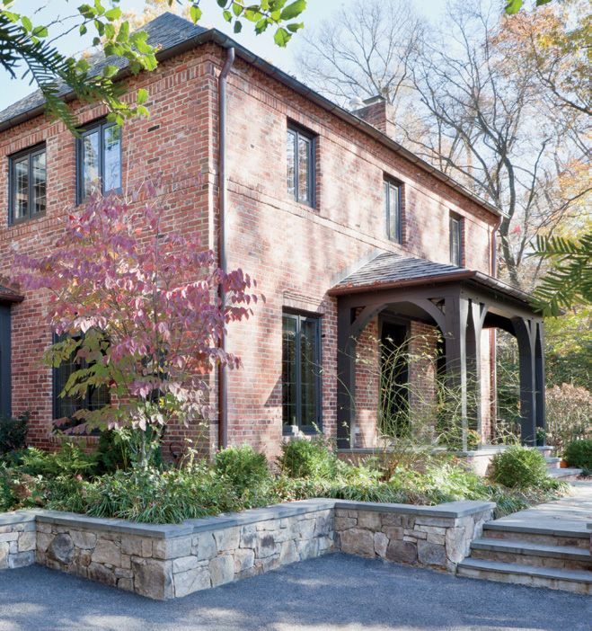 Brick Exterior of Renovated 1930s-Era Home