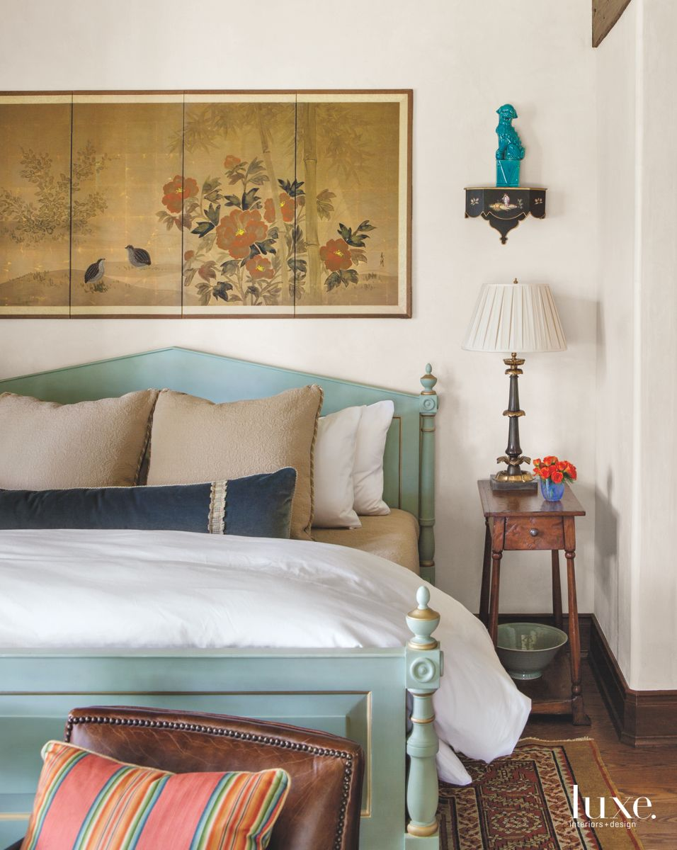Guest Bedroom with Asian Influences