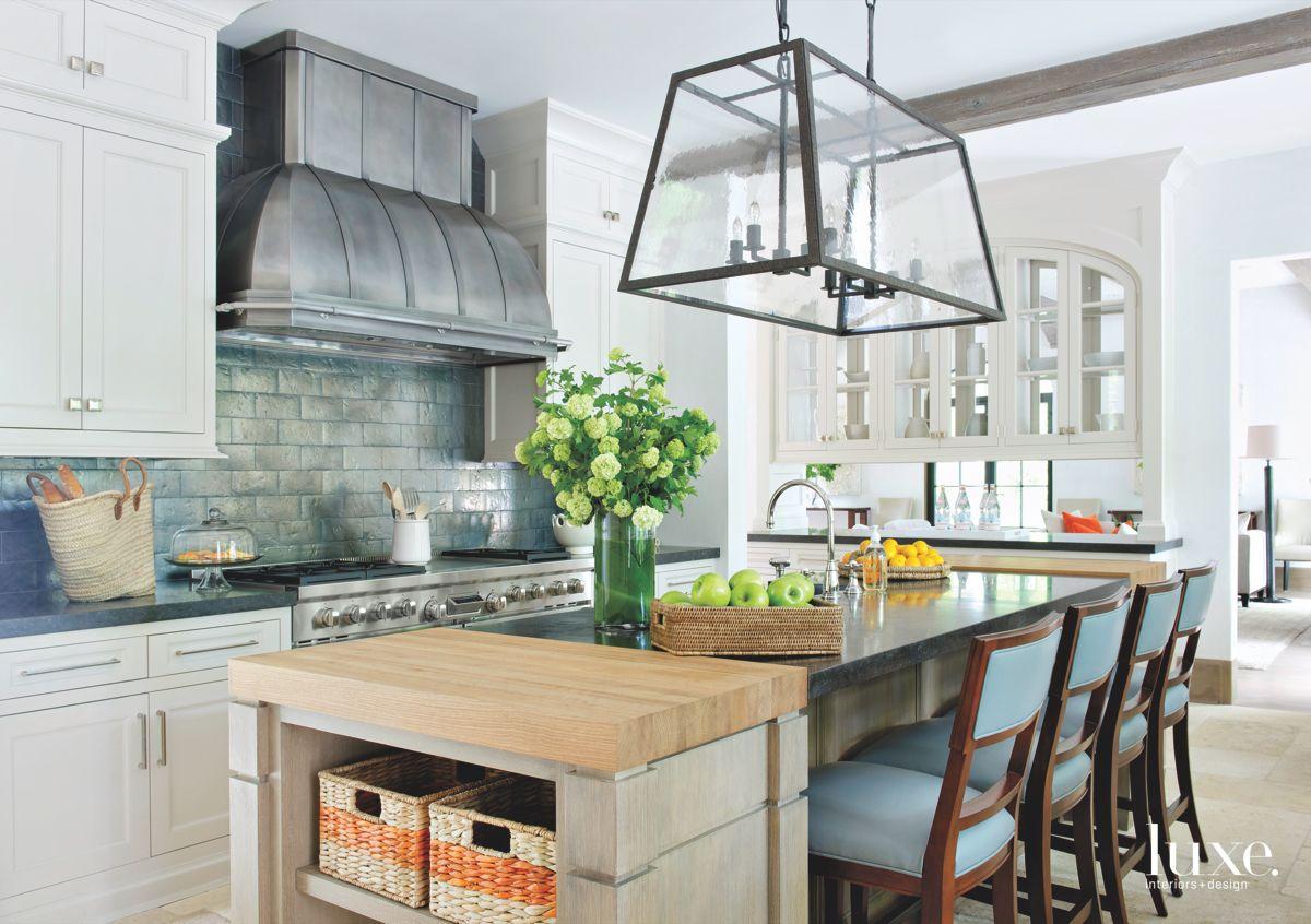 Lantern Reference Iron Chandelier Kitchen