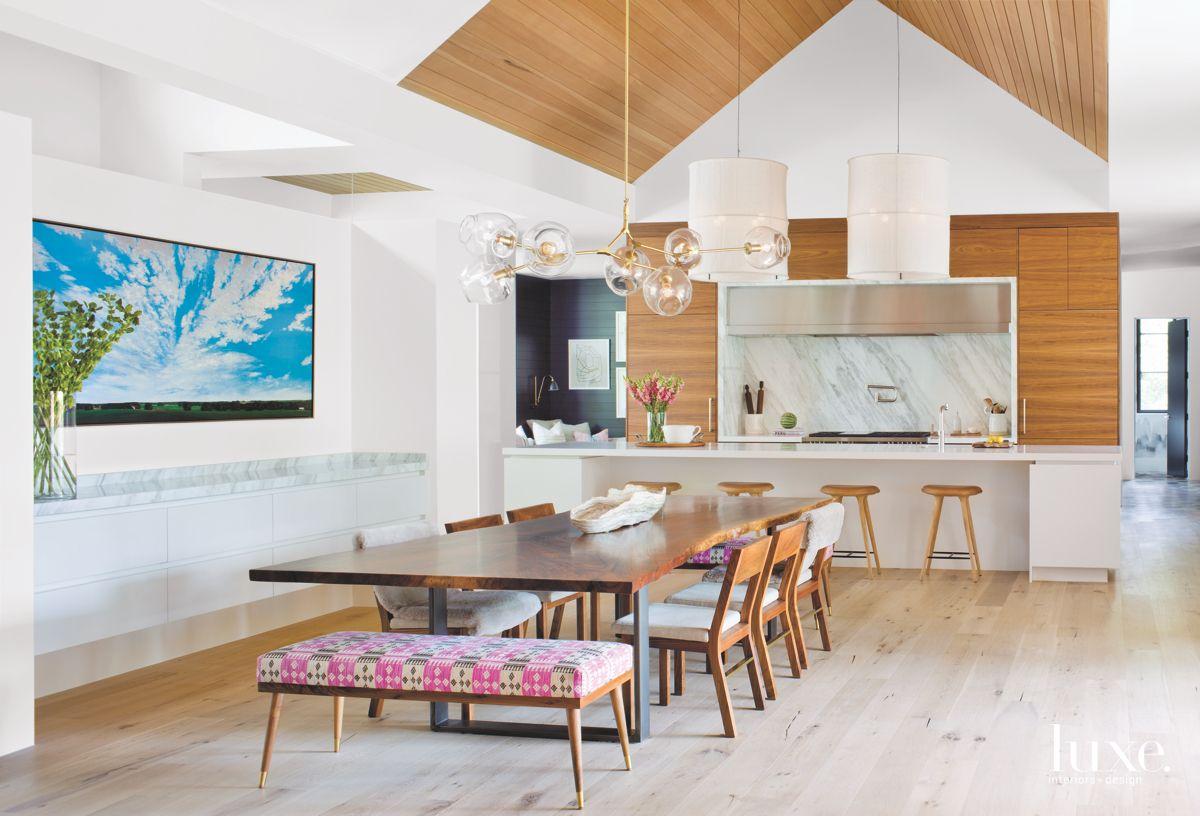 Simplistic Wooden Kitchen with Modern Accessories